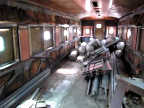 Passenger Cars For Sale >> Silver Tower Observation Train Car Interior - YouTube