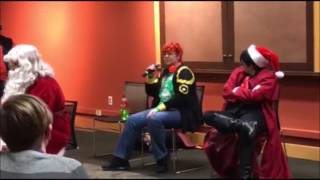 RIT Cosplay Snow Fest 18+ Dating game (yaoi round with Santa, Nuka-Cola, 707, and Alucard)