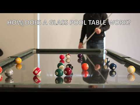 How Does a Glass Top Pool Table Work - FAQ's