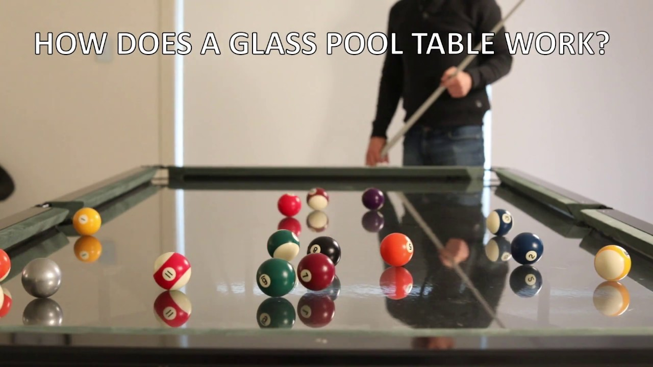 How Does A Glass Top Pool Table Work Faq 39 S Youtube