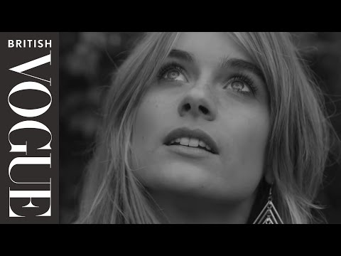 A Date with Cressida Bonas | Miss Vogue | British Vogue
