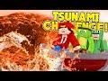 Minecraft Vs - RED HOT TSUNAMI CHALLENGE!!!