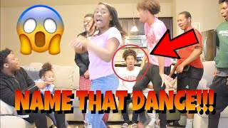 NAME THAT DANCE CHALLENGE!!! | TURNS INTO A DANCE SESSION!!