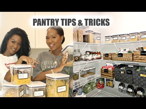 PANTRY TIPS & TRICKS   REORGANIZE