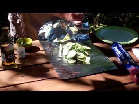 Foil Packet Grilled Zucchini