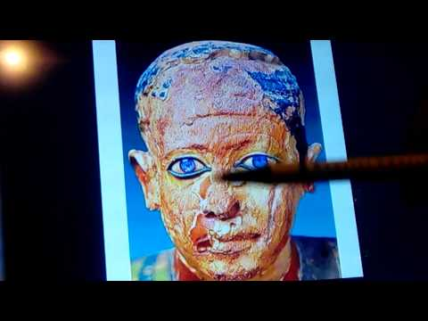 Blue Eyed Mummies of Antiquity: Egypt Thru Asia & Americas -2018 NEW INFO