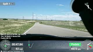 Pueblo Motorsports Park E46 330i 5-31-2019 best lap