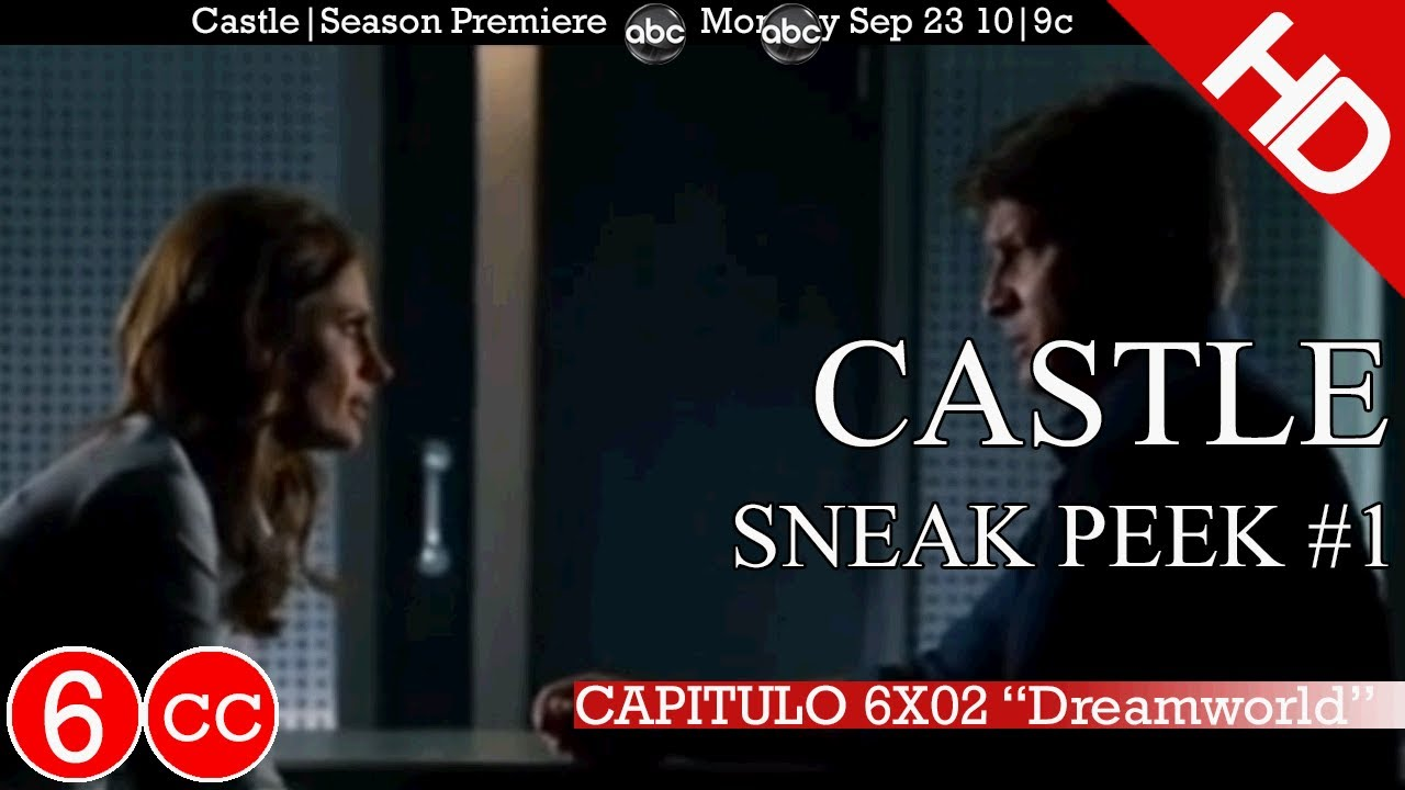 Where can i watch season 6 of castle / 3d videos using 3d