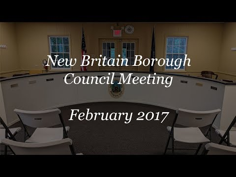 February 2017 Council Meeting