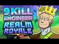 9 Kill Engineer Victory! - Realm Royale (Solo)