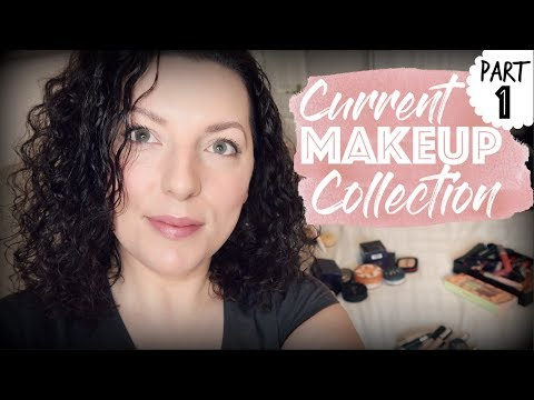 My Current Makeup Collection - Part 1 | Down to Earth Beauty | Fun | WavyKate