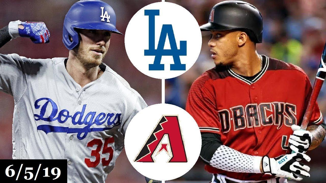 Los Angeles Dodgers Vs Arizona Diamondbacks Full Game