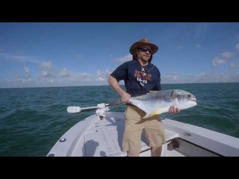 Charter Fishing the Biscayne Bay in Miami Florida ~ HUGE PERMIT