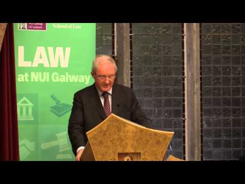 School of Law Annual Distinguished Lecture 2015
