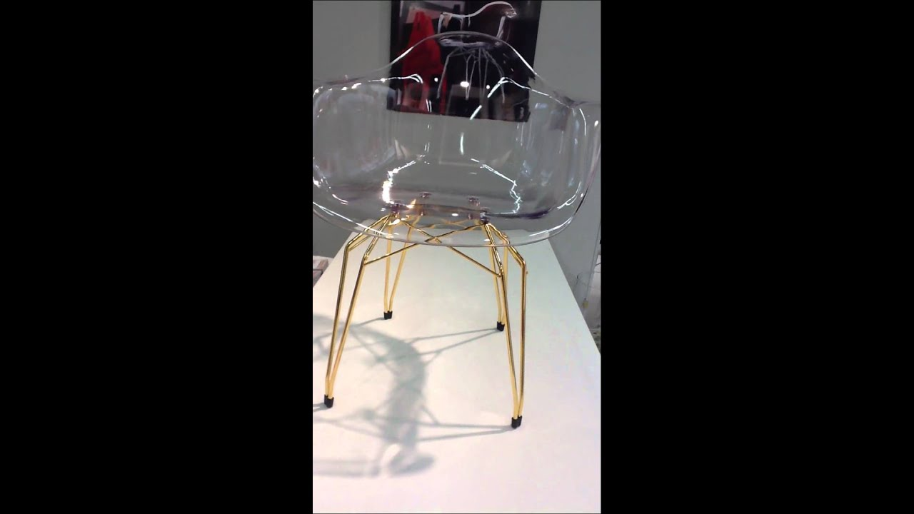 Diamond Armchair In Transparent Clear By Kubikoff