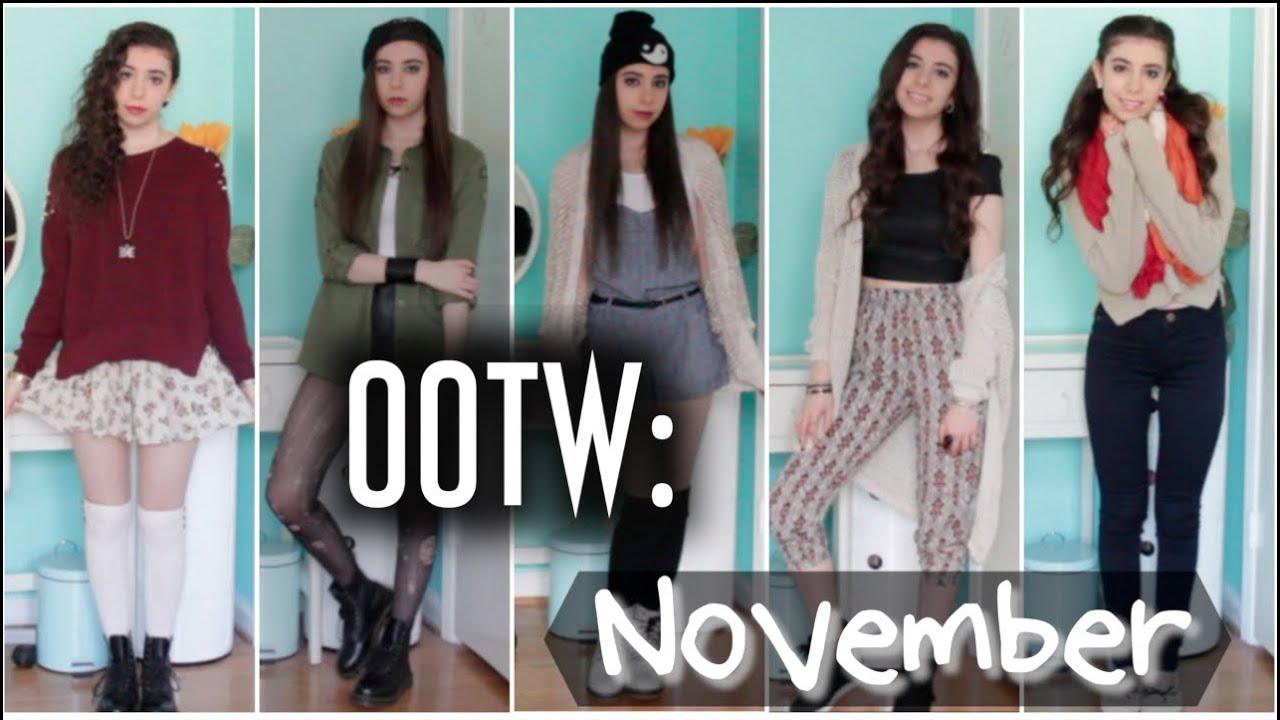 OOTW: Outfits of the Week November