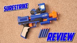 Nerf N-Strike Elite SureStrike Unboxing, Review & Range Test