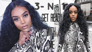 3-N-1 VALENTINES DAY GRWM: Makeup, Hair & Outfit | Feat. Brooklyn Sensationnel Wig