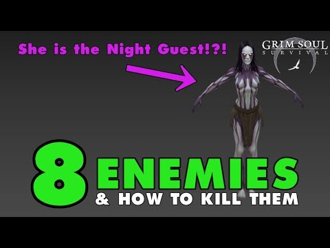 How to Kill Knights, Templars, Bears, Direwolfs, the Night Guest: Grim Soul Dark Fantasy (Vid#116)