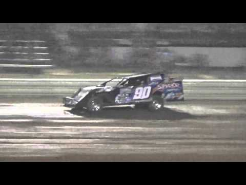 Ark La TEx Speedway Modified heat race fan night 4/23/16
