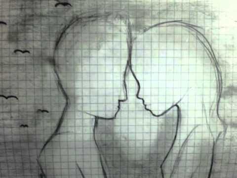 Disegni con tanti significati musica matita e cuore for Disegni da copiare a matita