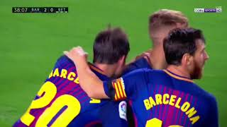 FC Barcelona Vs Real Betis 2-0 - All Goals & Highlights (English Commentary)