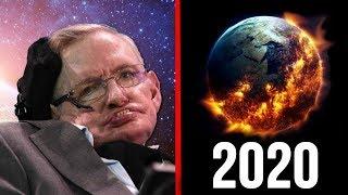 Stephen Hawking'in Ölmeden Önce Uyardığı Son Sözlerine İnanmaycaksınız  !!