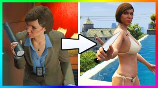 GTA 5 - IS NIKO BELLIC'S EX GIRLFRIEND A KILLER, DAVE NORTON ASSASINATION & MORE DARK/CREEPY SECRETS