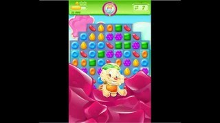 Candy Crush Jelly Saga Level 19 No Boosters 2 Stars