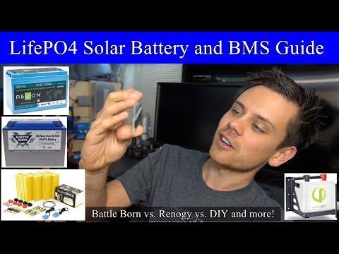 LiFePO4 Battery Buyers Guide! Battleborn vs. Renogy vs. DIY vs. Simpliphi and more!