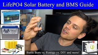 LiFePO4 Battery Buyers Guide! Battleborn vs. Renogy vs. DIY vs. Simpliphi and more!