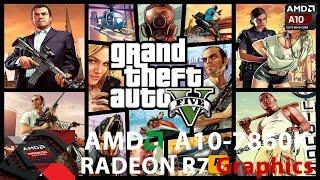 Grand Theft Auto V - AMD APU A10-7860K[BENCHMARK]