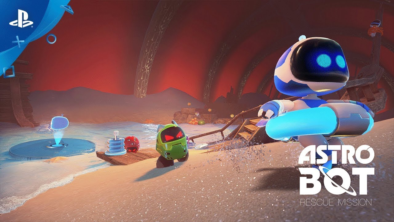 ASTRO BOT Rescue Mission – Launch Trailer | PS VR