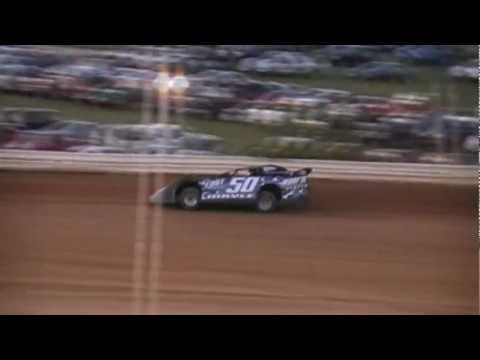 Ronnie Mayle Late Model Qualifying Lap Jackson County Speedway 4-6-2012