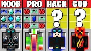 Minecraft Battle: YOUTUBER CRAFTING CHALLENGE ~ NOOB vs PRO vs HACKER vs GOD – Trolling Animation