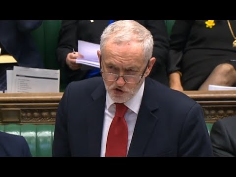 Jeremy Corbyn holds a second emergency debate in the Commons