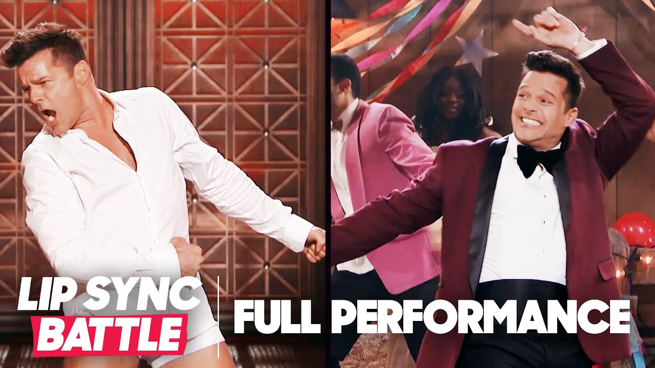"Ricky Martin Performs ""Old Time Rock and Roll"" & ""Footloose"" 
