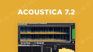 Discover Acoustica 7.2