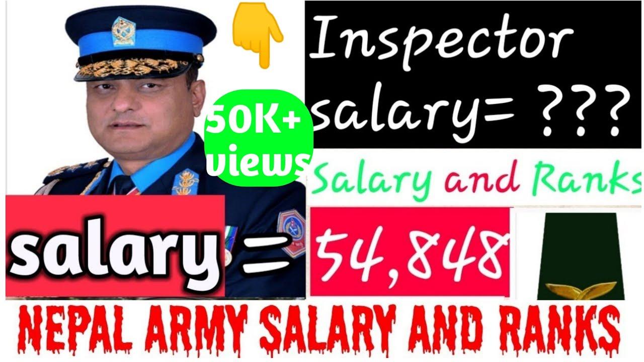 Salary of nepal police | salary of nepal army|ranks of nepal police and  rank of nepal army