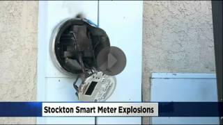 Crazy! Hundreds of Smart Meters Explode In Stockton After Power Surge
