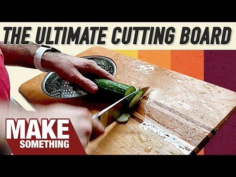 The Most Practical Cutting Board You Can Make! | Woodworking Project