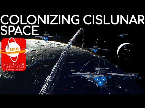 Colonizing Cislunar Space and the Lagrange Points