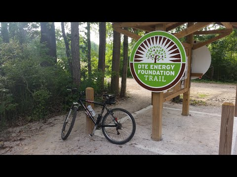 DTE Foundation Trail Chelsea, MI Complete Ride Mountain Bike