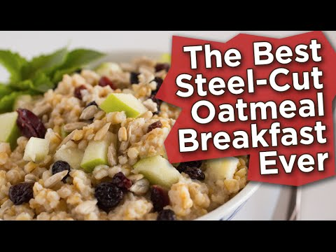 How to Make the Best Steel Cut Oatmeal Ever (Nutritarian/Vegan)