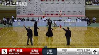 N.EIGA MMe-K T.HASUO - 63rd All Japan TOZAI-TAIKO KENDO TAKAI - MEN 21