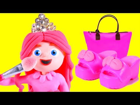 LOOK WHAT LITTLE PRINCESS BOUGHT IN AMAZON 鉂� SUPERHERO PLAY DOH CARTOONS FOR KIDS