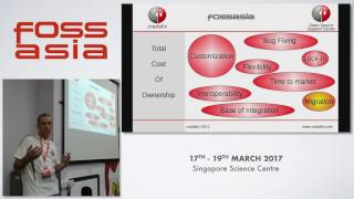 Community meets Business - Michael Meskes - FOSSASIA Summit 2017