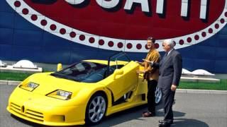 видео История марки Bugatti