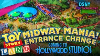 New Entrance for Toy Story Midway Mania at Disney's Hollywood Studios - Disney News - 6/27/17