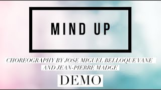 MIND UP line dance demo, choreography by Jose Miguel Belloque Vane & Jean Pierre Madge